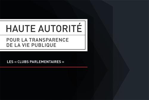 documents publiés sur les préoccupations de l'Association professionnelle des responsables des Relations avec les Pouvoirs Publics
